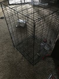 black metal folding dog crate Colorado Springs, 80910