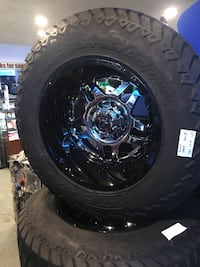 Gear alloy 20x12 inch wheels 8x165 w/ 37 tires BRAND NEW for $1799.99! Indianapolis, 46227