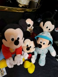 Peluches Mickey et Minnie Mouse Viry-Châtillon, 91170