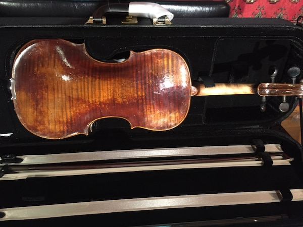 Old German violin with appraisal from House of Weaver. Pick up only. 0cc308ff-95c7-4233-8310-1ba78173e62e