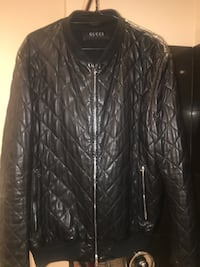 Genuine Gucci Men's Leather Jacket