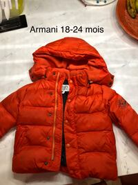Armani baby winter jacket Pointe-Claire, H9R 5T3