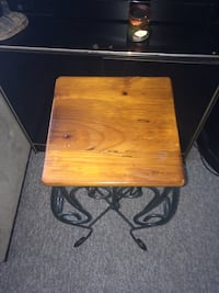 square brown wooden folding table Essex, N8M