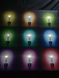 Light up lightbulb wall art Fairfax, 22031
