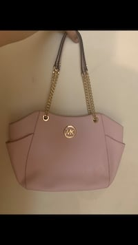 women's pink Michael Kors leather tote bag Silver Spring, 20906