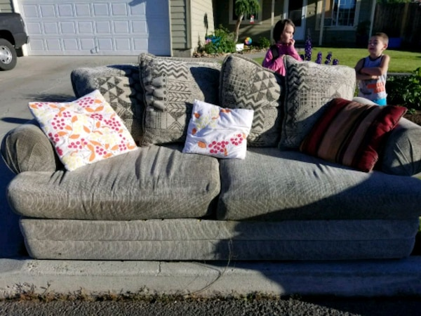 Large 2 cushion couch