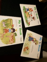 Set of letter learning books London, N5Z 4R9