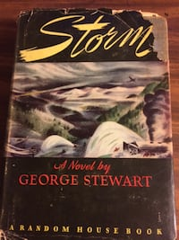 Storm by George R. Stewart-Modern Library Edition in Dust Jacket Castle Hayne