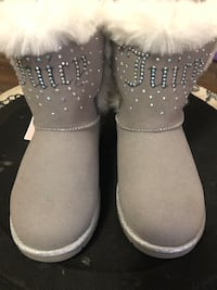 Authentic Juicy Couture Fur Boots