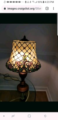 Lamps, Tiffany Style Pair. Perry Hall, 21128