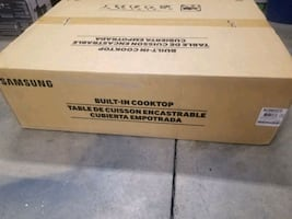 """Samsung gas cooktop 30"""" new"""