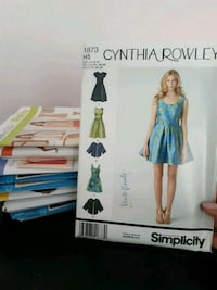 New Sewing Patterns - 9 packs Beaconsfield, H9W 5Y5