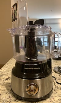 Hamilton Beach 10Cup Food Processor with Bowl Scraper Stainless Steel