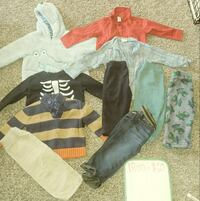 assorted clothes York