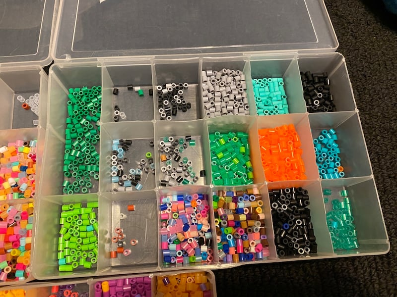 Perler beads with molds 6