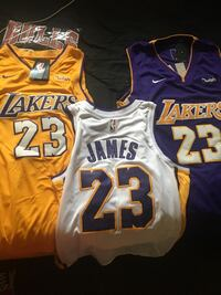yellow and blue Lakers 24 jersey Macon, 31210