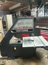 "10""Craftsman band saw, works perfectly  Columbia Station, 44028"