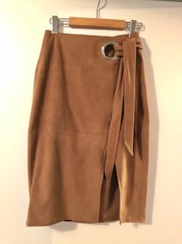 Express Faux Suede Skirt  Toronto, M6H 4K6