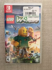 Nintendo Switch game LEGO Worlds.