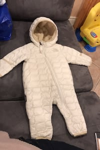 North face infant one piece