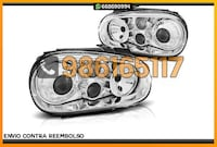 FAROS LOOK R32+NIEBLAS CROMO VW GOLF MK4 Alicante