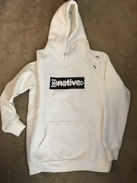 White and black Native pull over hoodie Nolensville, 37135