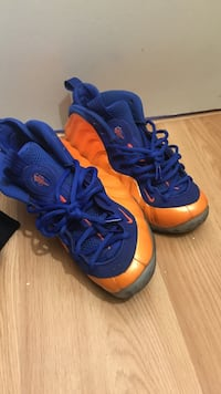 blue-and-orange Nike Air Foamposite 1 shoes Toronto, M3N 1J4