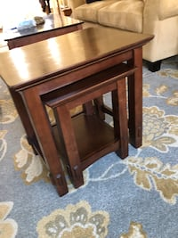 Nested end tables