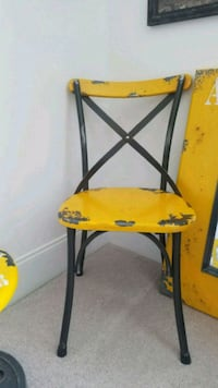 Yellow French Industrial Chair Ellicott City, 21042