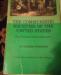Thevcommunistic societies of us, Elements of Botan Kirksville, 63501