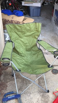 green and gray camping chair Sterling, 20164