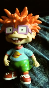Chuckie Finsiter Toy Figure Indianapolis