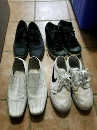 5 per pair and 10 for white nike Kitchener