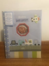 Norte Petit Garçon/Baby's First Memory Book in French