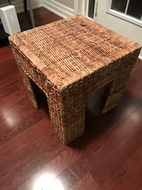 Wicker made stool very nice one Brampton, L7A 3C6