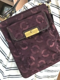 Purple coach crossbody  Plainville, 02762