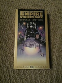 Star Wars the empire strikes back (VHS) Vaughan, L6A 1Z6