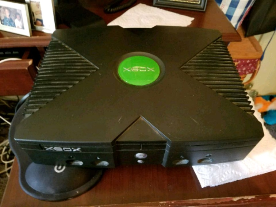 black Xbox 360 game console, used for sale  Wiley Ford