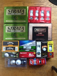 Lot of new golf balls