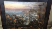Thomas Kincaid painting of San Francisco comes with letter of authenticity.  $500 OBO Washington, 20020