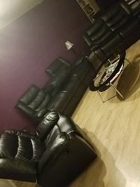 6 piece leather Set w/end tables & coffee table  Olney, 20832
