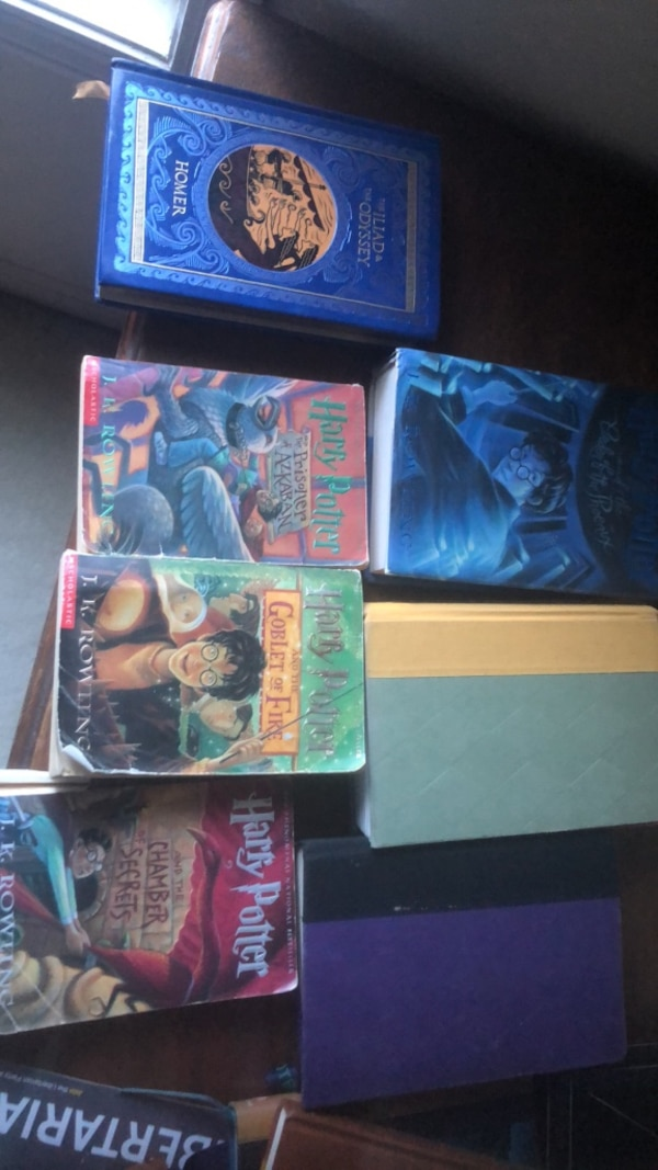 Used Harry Potter Book Set For Sale In Marietta Letgo