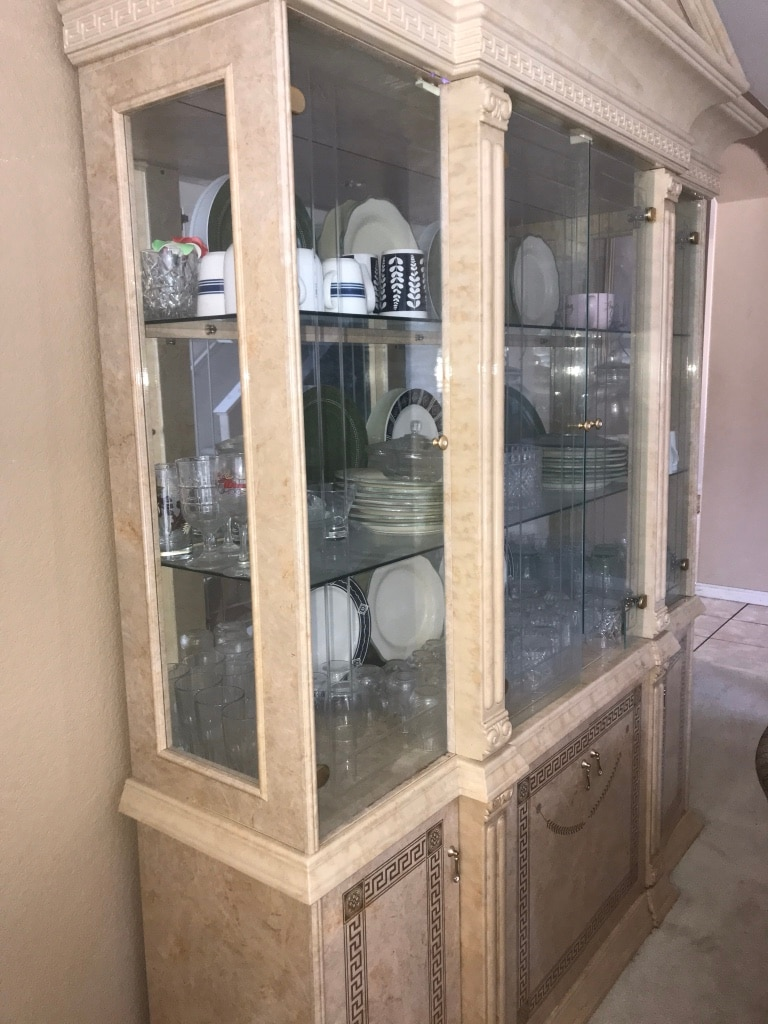 Exceptionnel Used Glassware Cabinet For Sale In Antioch   Letgo