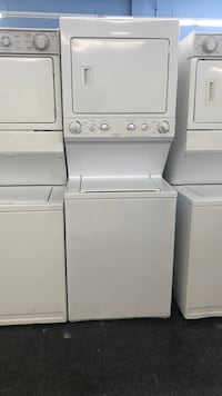 white stackable washer and dryer Toronto, M3J