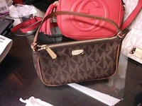 Brwn MK hand purse with strap and Red Gucci purse  Fort Washington, 20744