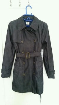 BNWT Gap women denim trench coat size xs Toronto, M2M 3X4