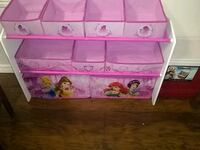 Princess toy organizer North Fort Myers, 33917