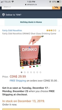 Drinko Game Edmonton, T6W 2Y1