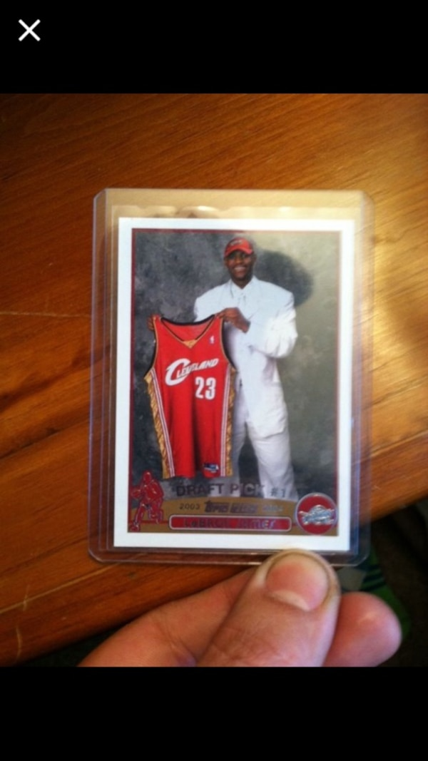 Lebron James Topps Rookie Card