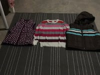 Three assorted fall clothes, size 8. Edmonton, T6W